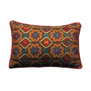 jewel accents  pillow