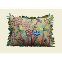 Happy Floral Pillow