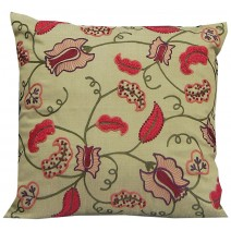 floral vine pillow