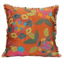 bouquet floral pillow