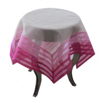 pleated organdie table cover-pink