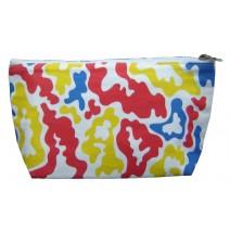bright camo -small bag