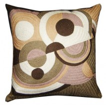 circles galore pillow