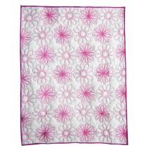 spiro floral quilt-pink