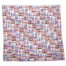 think pink patchwork quilt