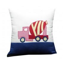 cement truck pillow