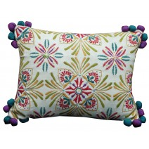 deco floral pillow