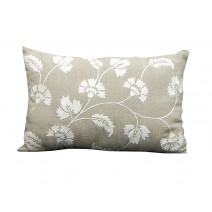 natural floral pillow