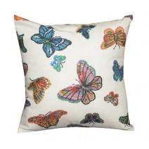 butterfly print pillow