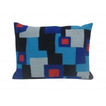 modern block pillow