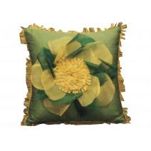 petal organza pillow