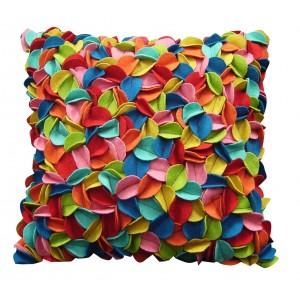 pop up felt leaves pillow