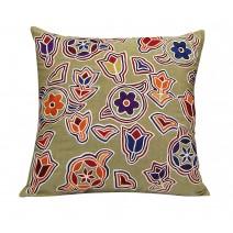 mural art pillow