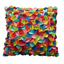 pop up felt leaves pillow