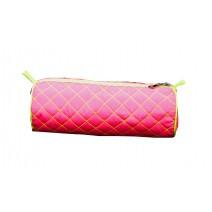 toxic neon pencil case -pink