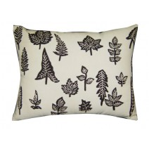 leaf shapes pillow