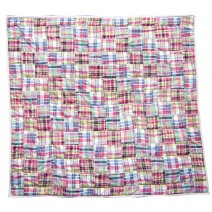 think pink patchwork quilt