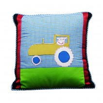 tractor patch pillow