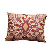 folk geo pillow