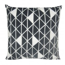 diamond grid pillow