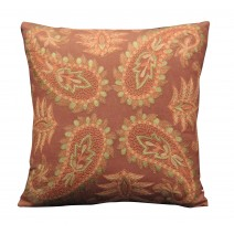 spice  four paisley pillow