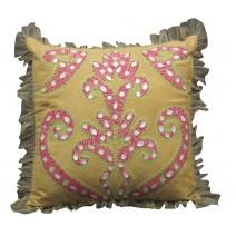 totem motif pillow